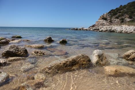 Beautiful portuguese beach
